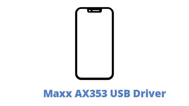 Maxx AX353 USB Driver