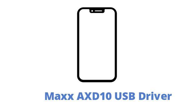 Maxx AXD10 USB Driver