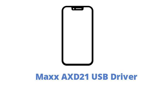 Maxx AXD21 USB Driver