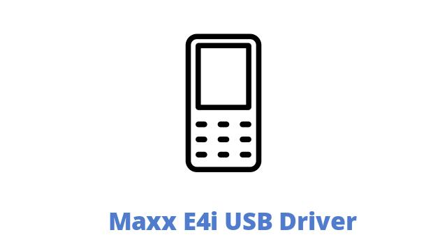 Maxx E4i USB Driver