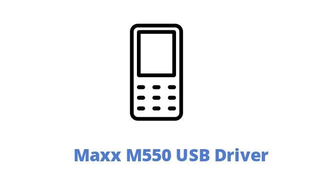 Maxx M550 USB Driver
