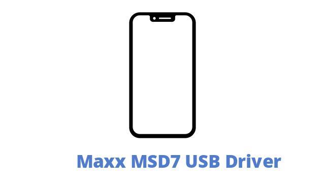 Maxx MSD7 USB Driver