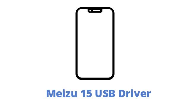 Meizu 15 USB Driver