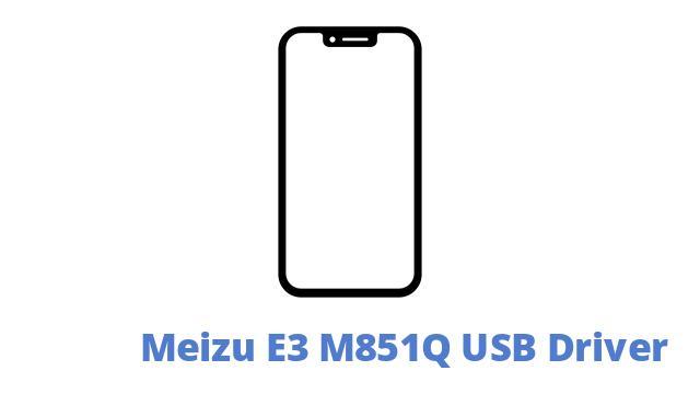 Meizu E3 M851Q USB Driver
