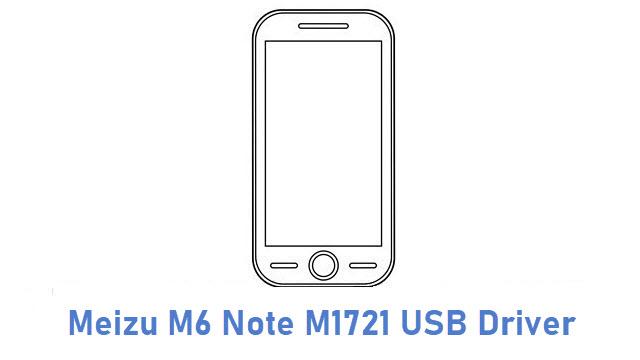 Meizu M6 Note M1721 USB Driver