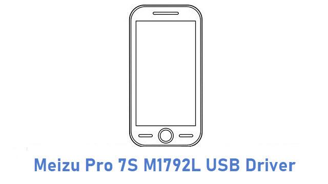 Meizu Pro 7S M1792L USB Driver