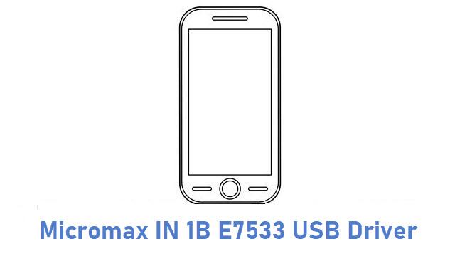 Micromax IN 1B E7533 USB Driver