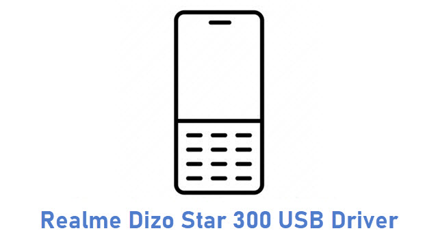Realme Dizo Star 300 USB Driver