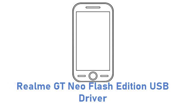 Realme GT Neo Flash Edition USB Driver