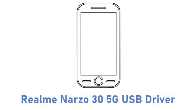 Realme Narzo 30 5G USB Driver