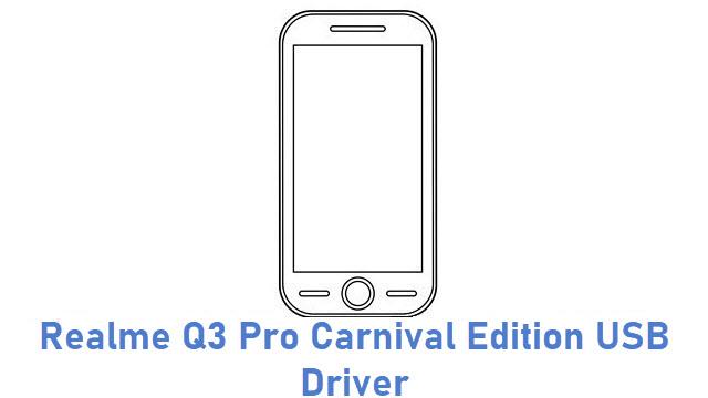 Realme Q3 Pro Carnival Edition USB Driver