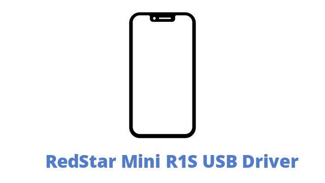 RedStar Mini R1S USB Driver