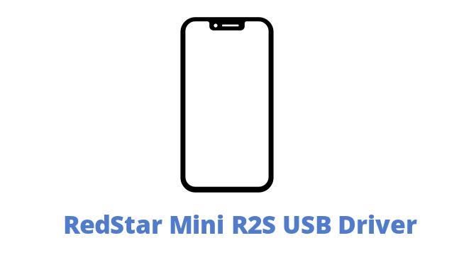 RedStar Mini R2S USB Driver