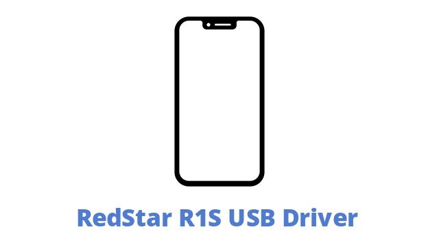 RedStar R1S USB Driver
